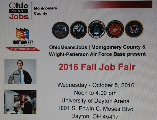 Wright Patterson Air Force Base Job Fair is here again